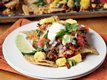 Chorizo-Pineapple Nachos