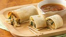 Samosa Taquitos with Apricot Chutney Sauce Recipe