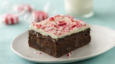 Chocolate Lover's Peppermint Bark Squares Recipe