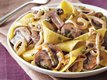 Pasta with Monster Mushroom Sauce