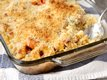 Macaroni &amp; Cheesy Chicken Baked Casserole