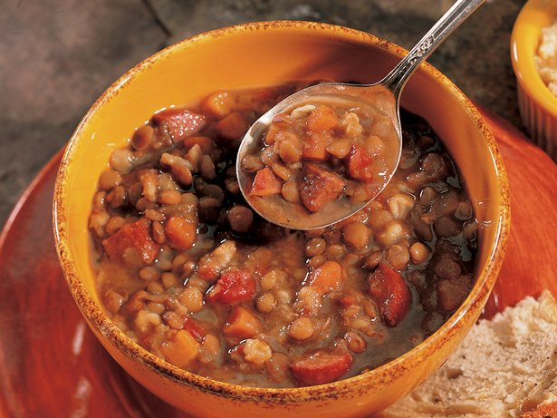 Bistro Lentil Barley Soup
