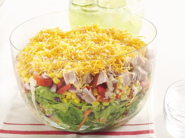 Layered Ham Salad