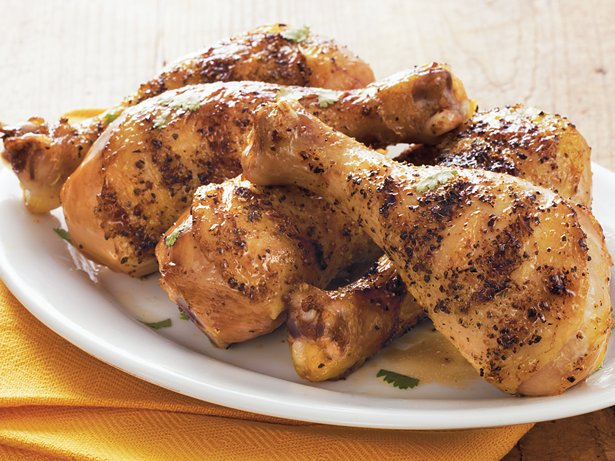 Honey-Lime Mopped Drumsticks