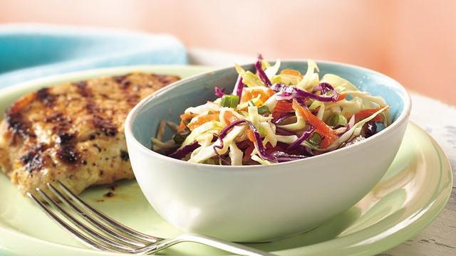 Sweet-and-Sour Cabbage Slaw