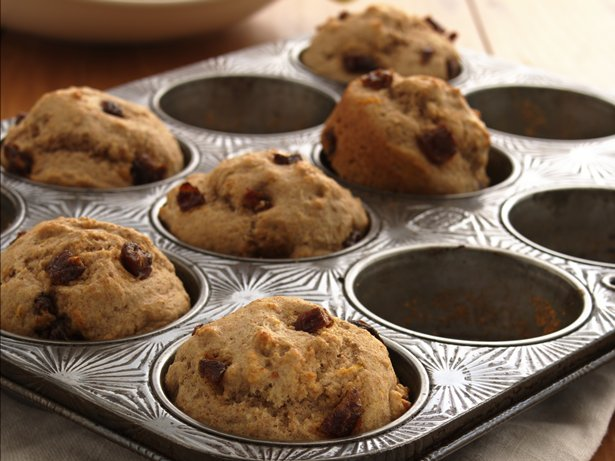 Lemon-Date Muffins