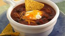 Barbecue Black Bean Chili Recipe