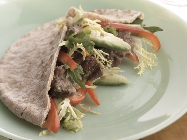 Healthified Grilled Fajita Pitas