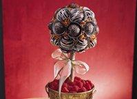 Chocolate Truffles Topiary