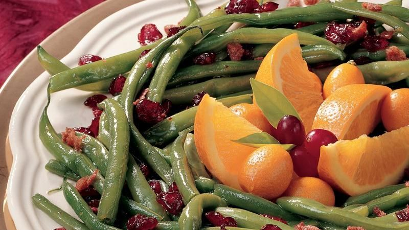Holiday Beans and Cranberries