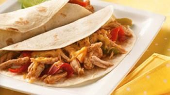 Slow Cooker Pulled-Pork Fajitas