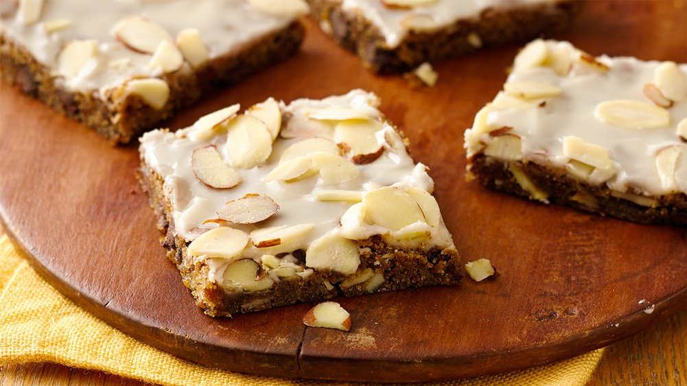 Chocolate Chip-Espresso-Almond Bars recipe from Pillsbury.com