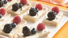 Fresh Berry Dessert Bites Recipe