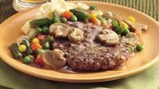 Veggie Salisbury Steak Recipe