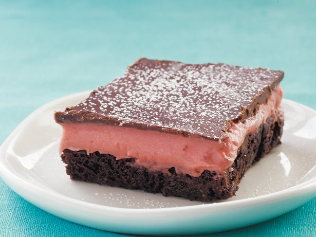 Gluten Free Strawberry Truffle Brownies