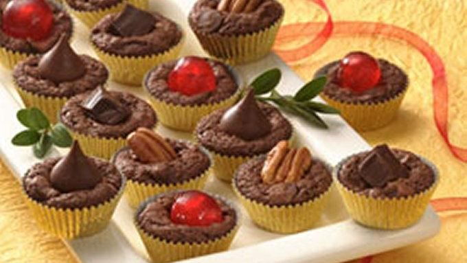 Triple-Chocolate Mini Cups (Cookie Exchange Quantity ...