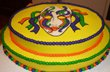 Mardi Gras Cake