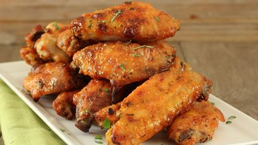 Baked Chicken Wings with Sour Cream Seasoning
