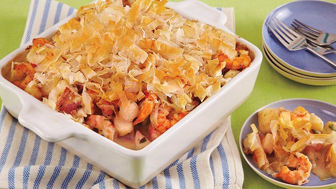 Seafood Pot Pie recipe - from Tablespoon!