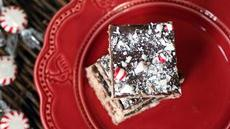 Dark Chocolate and Peppermint Squares Recipe