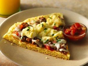Gluten-Free Huevos Rancheros Breakfast Pizza