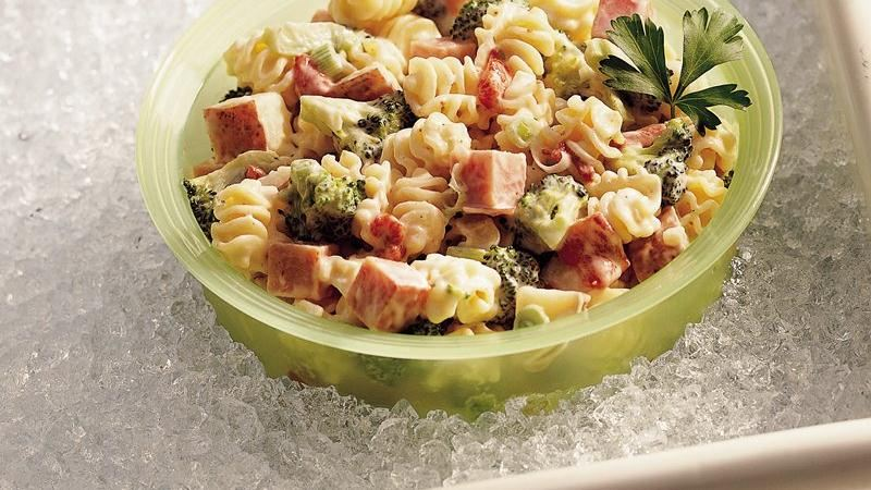 Ranch Ham and Pasta Salad