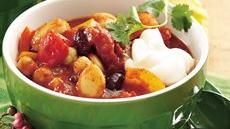 Three-Bean Christmas Chili Recipe