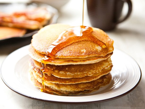 ... cornmeal pancakes. Learn to make this recipe with our how-to article