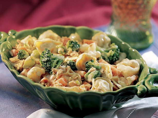 Tuna Tortellini Vegetable Salad