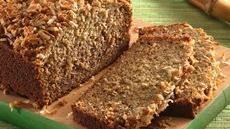 Crunchy Banana-Colada Bread Recipe
