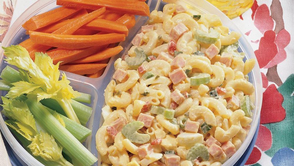 Ham and Macaroni Picnic Salad