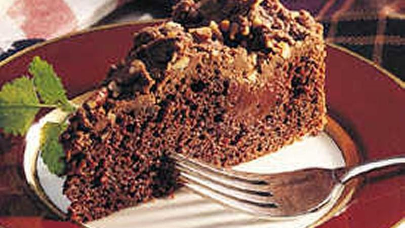Fudgy Chocolate Torte