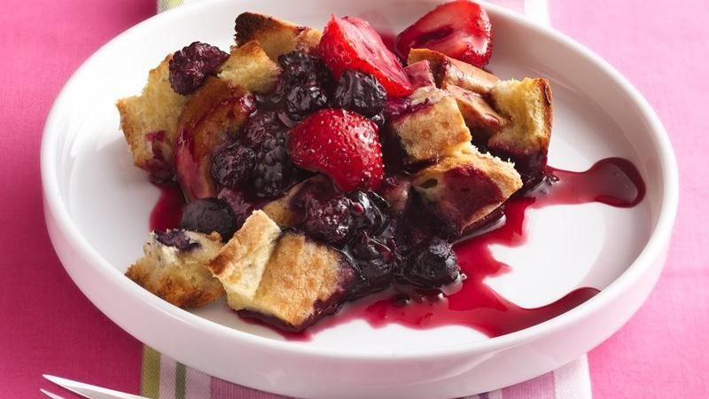 Berry French Toast Bake recipe from Betty Crocker