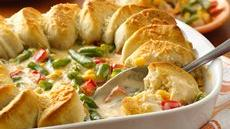 Veggie and Biscuit Casserole Recipe