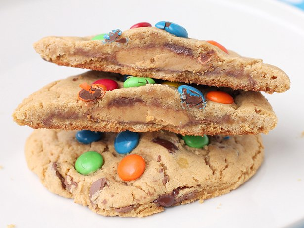 Sneaky Monster Cookies