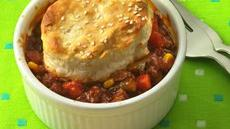 Sloppy Joe Biscuit Pot Pies Recipe