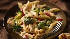 Roasted Garlic Chicken Penne Recipe