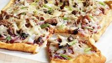 Barbecue Pork Pizza Recipe