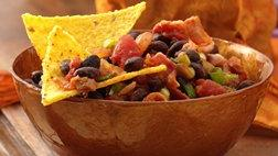 Salsa And Black Bean Dip