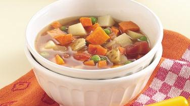Slow-Cooker Two-Potato Vegetable Soup