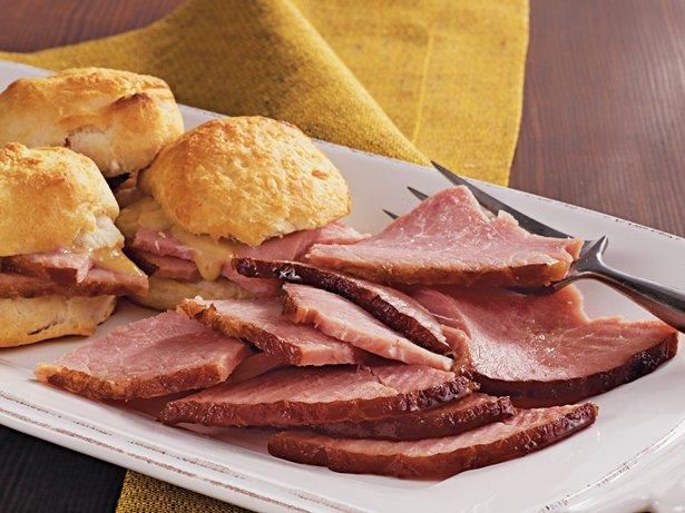 Slow-Cooker Honey Mustard Glazed Ham recipe from Betty Crocker