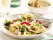 Lemony Pork Primavera Pasta