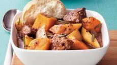 Harvest Beef and Sweet Potato Stew Recipe