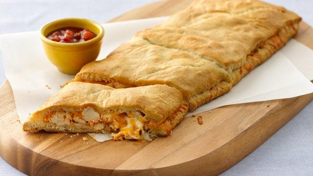 Grands! Crescent Enchilada-Stuffed Sandwiches