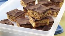 Peanut Butter-Toffee Bars Recipe