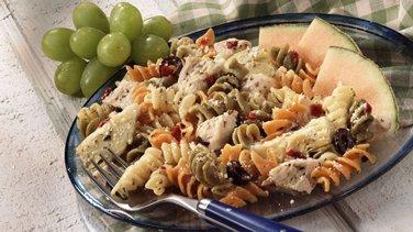 Dijon Chicken and Pasta Salad