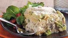 Slow Cooker Chicken Broccoli Lasagna Recipe