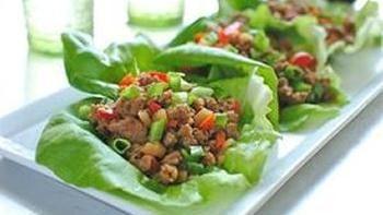 Asian Turkey Lettuce Cups
