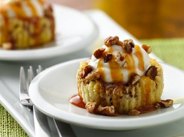 Impossibly Easy Salted Caramel Apple Mini Pies