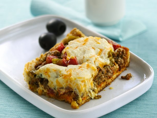 Deep-Dish Taco Squares